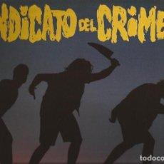 Discos de vinilo: LP SINDICATO DEL CRIMEN HIP HOP RADICAL TROYA 0734 INCLUYE INSERT. Lote 162945102