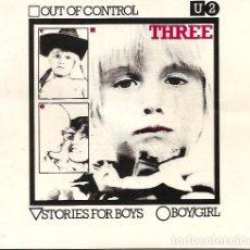 Discos de vinilo: U2. OUT OF CONTROL (VINILO SINGLE 1979. Lote 162948866