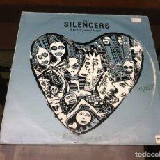 Discos de vinilo: MAXI SINGLE. THE SILENCERS. BULLETPROOF HEART. 1991, ESPAÑA. Lote 162951258