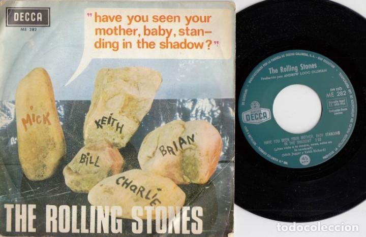 THE ROLLING STONES - HAVE YOU SEEN YOUR MOTHER STANDING IN THE SHADOW - SINGLE DE VINILO ESPAÑOL (Música - Discos - Singles Vinilo - Pop - Rock Extranjero de los 50 y 60)