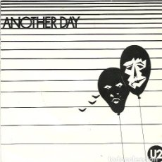 Discos de vinilo: U2. ANOTHER DAY (VINILO SINGLE 1980). Lote 162952842