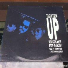 Vinyl-Schallplatten - MAXI SINGLE. WALLY JUMP JUNIOR & THE CRIMINAL ELEMENT. TIGHTEN UP. 1988, ESPAÑA. - 162953530