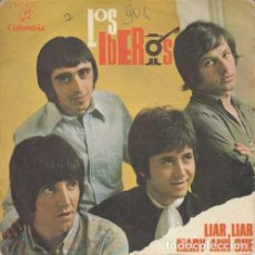 Discos de vinilo: LOS IBEROS - LIAR LIAR - SINGLE DE VINILO. Lote 162953742