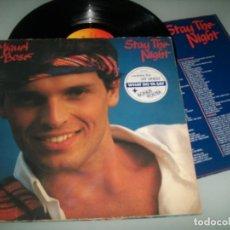 Discos de vinilo: MIGUEL BOSE - STAY THE NIGHT ..LP - VERSION EN INGLES DEL LP MAS ALLA DE 1981 CBS CON LETRAS. Lote 162975390