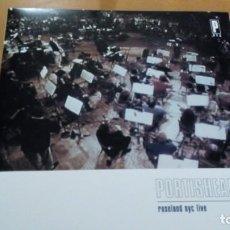 Discos de vinilo: PORTISHEAD ROSELAND NYC LIVE 2XLPS INSERTO. Lote 164940665