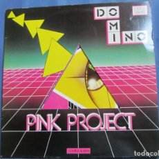 Discos de vinilo: PINK PROYECT- LP DOBLE DE VINILO-CON 7 TEMAS DEL ALBUM- MUSICA ITALO DISCO- ORIGINAL DEL 82- NUEVO. Lote 162986034