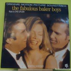 Discos de vinilo: LP DAVE GRUSIN, VARIOUS – THE FABULOUS BAKER BOYS (OST). Lote 162992450