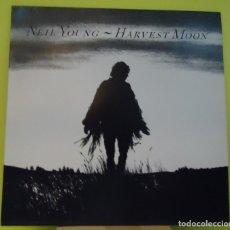 Discos de vinilo: LP NEIL YOUNG – HARVEST MOON. Lote 162994646