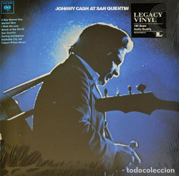 LP JOHNNY CASH – JOHNNY CASH AT SAN QUENTIN (Música - Discos - LP Vinilo - Country y Folk)