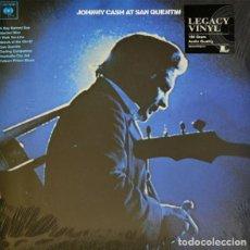 Vinyl records - LP Johnny Cash – Johnny Cash At San Quentin - 162997134