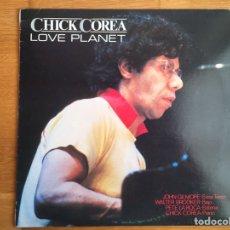 Discos de vinilo: CHICK COREA: LOVE PLANET. Lote 163001196