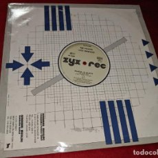 Discos de vinilo: LOS BRAVOS BLACK IS BLACK/INSTRUMENTAL 12 MX 1986 ZYX EDICION ALEMANA GERMANY. Lote 163008538