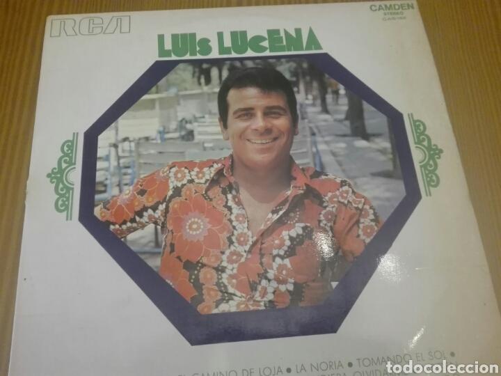 DISCO VINILO LUIS LUCENA (Música - Discos - LP Vinilo - Flamenco, Canción española y Cuplé)