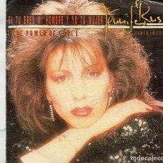 Discos de vinilo: SINGLE 1984 - JENNIFER RUSH (CANTA EN ESPAÑOL) SI TU ERES MI HOMBRE Y YO TU MUJER. Lote 163015162