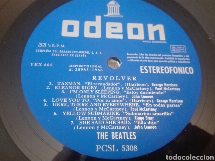 Discos de vinilo: Disco vinilo THE BEATLES - Foto 2 - 134170430