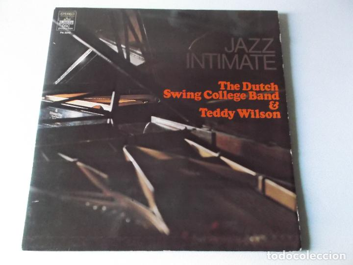 Discos de vinilo: JAZZ INTIMATE, THE DUTCH SWING COLLEGE BAND & TEDDY WILSON, 2 LPS 1973 - Foto 1 - 163023554