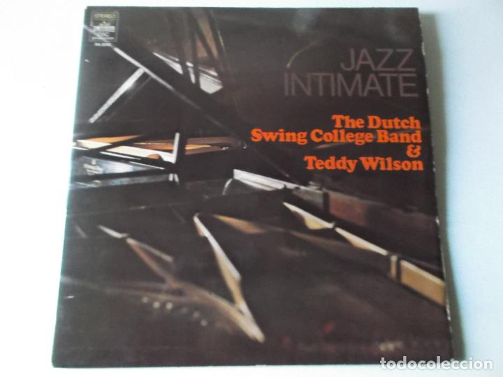 Discos de vinilo: JAZZ INTIMATE, THE DUTCH SWING COLLEGE BAND & TEDDY WILSON, 2 LPS 1973 - Foto 2 - 163023554
