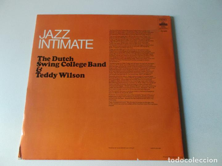 Discos de vinilo: JAZZ INTIMATE, THE DUTCH SWING COLLEGE BAND & TEDDY WILSON, 2 LPS 1973 - Foto 4 - 163023554