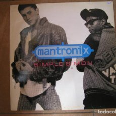 Discos de vinilo: MANTRONIX – SIMPLE SIMON - 10 RECORDS 1988 - MAXI - PLS. Lote 163024298
