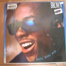 Discos de vinilo: BOBBY BROWN – EVERY LITTLE STEP - MCA RECORDS 1989 - MAXI - PLS 578 - L -. Lote 163027274