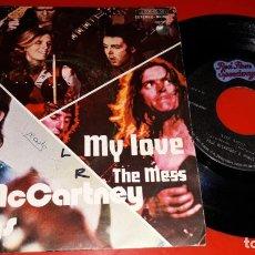 Discos de vinilo: PAUL MCCARTNEY & WINGS: MY LOVE / THE MESS (APPLE RECORDS 1973). Lote 163029042