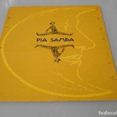 Discos de vinilo: MAXI SINGLE 1993 - PÍA SAMBA. Lote 163074442