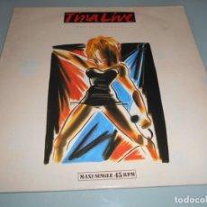 Discos de vinilo: X- MAXI SINGLE 1988 - TINA LIVE. Lote 163074554