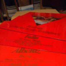 Discos de vinilo: LOTE 16 LP'S GENIOS DE LA MUSICA ESPAÑOLA: ALBENIZ, FALLA, GRANADOS, RODRIGO, BRETON, SOROZABAL ETC. Lote 296719068