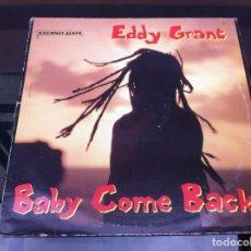Vinyl-Schallplatten - MAXI SINGLE. EDDY GRANT. BABY COME BACK. 1989, ESPAÑA - 163088506