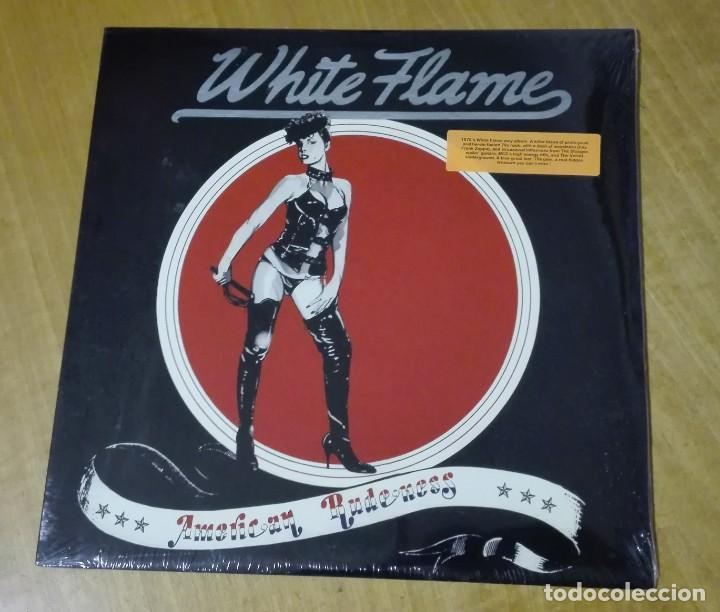WHITE FLAME - AMERICAN RUDENESS (LP 2007, MUNSTER RECORDS MR 284 2007) PRECINTADO (Música - Discos de Vinilo - EPs - Pop - Rock Extranjero de los 70	)