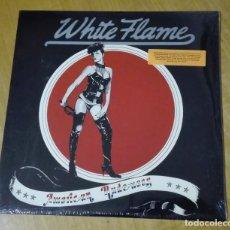 Discos de vinilo: WHITE FLAME - AMERICAN RUDENESS (LP 2007, MUNSTER RECORDS MR 284 2007) PRECINTADO. Lote 163104678
