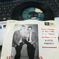 Discos de vinilo: HERMANOS ROSAS SINGLE EL HOMBRE Y EL TORO 1966. Lote 222677663
