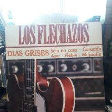 Discos de vinilo: MINI LP LOS FLECHAZOS DIAS GRISES. Lote 163118158