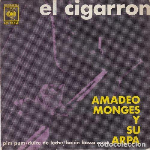 AMADEO MONGES Y SU ARPA - EL CIGARRON - EP EDICION ESPAÑOLA (Música - Discos de Vinilo - EPs - Grupos y Solistas de latinoamérica)