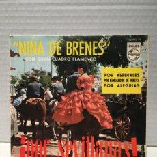 Discos de vinilo: SINGLE DE LA NIÑA DE BRENES AÑOS 60. Lote 163186830