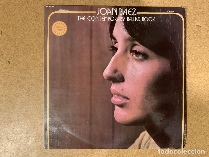 JOAN BAEZ ?– THE CONTEMPORARY BALLAD BOOK SELLO: VANGUARD ?– VSD 49/50 SERIE: VANGUARD TWOFER – FOR (Música - Discos - LP Vinilo - Cantautores Extranjeros)