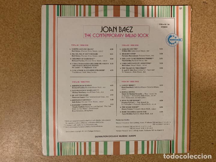 Discos de vinilo: Joan Baez ?– The Contemporary Ballad Book Sello: Vanguard ?– VSD 49/50 Serie: Vanguard Twofer – For - Foto 3 - 163190254