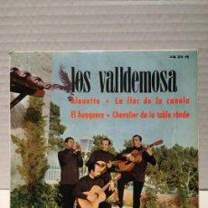 Discos de vinilo: SIGLE DE LOS VALDEMOSA AÑOS 60. Lote 163191182