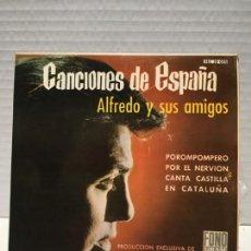 Discos de vinilo: SINGLE DE ALFREDO Y SUS AMIGOS AÑOS 60. Lote 163191738