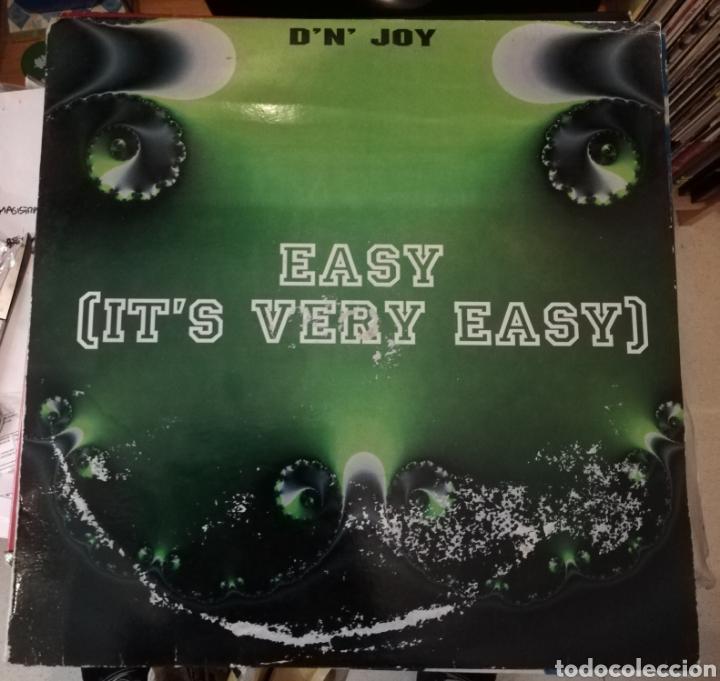 D'N' JOY - EASY (IT'S VERY EASY) (Música - Discos de Vinilo - Maxi Singles - Disco y Dance)