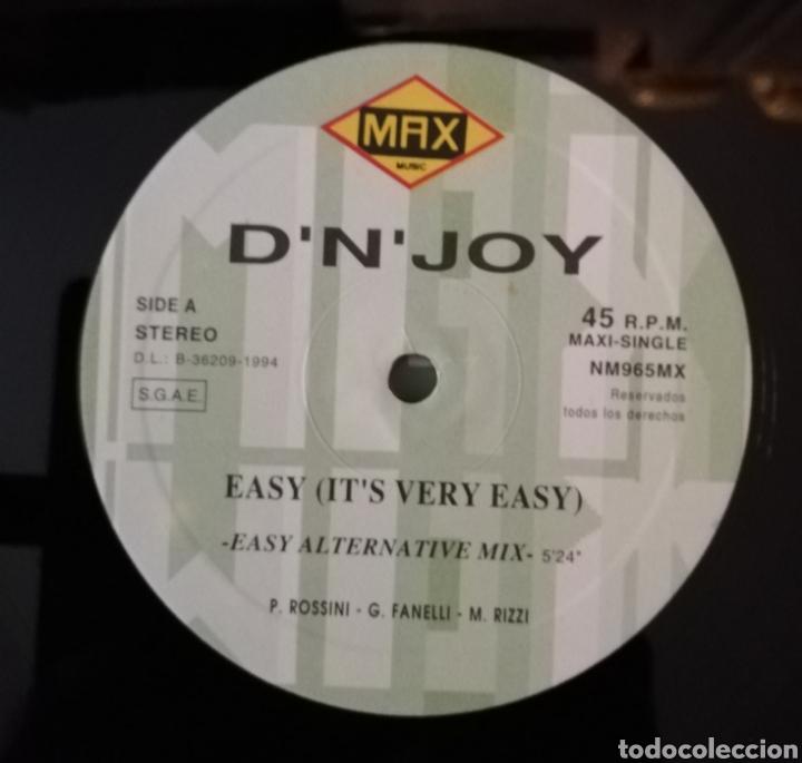 Discos de vinilo: Dn Joy - Easy (Its very easy) - Foto 4 - 163201276