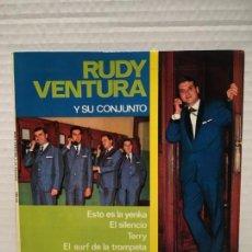 Discos de vinilo: SINGLE DE RUDY VENTURA AÑOS 60. Lote 163220218