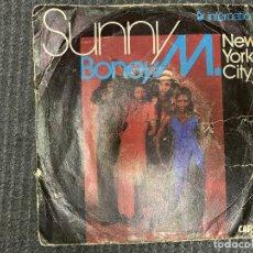 Discos de vinilo: BONEY M. ?– SUNNY SELLO: CARRERE ?– 49.245, HANSA INTERNATIONAL ?– 49.245 FORMATO: VINYL, 7. Lote 243267775
