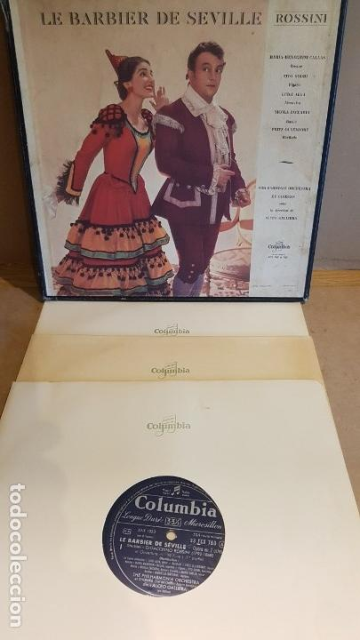 Discos de vinilo: CAJA-ÁLBUM / LE BARBIER DE SEVILLE - ROSSINI / PHILHARMONIA ORCHESTRA ET CHOEURS / LEER. - Foto 2 - 163314838