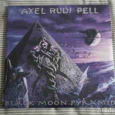 Discos de vinilo: AXEL RUDI PELL. BLACK MOON PYRAMID, DOBLE LP + CD GATEFOLD, COMO NUEVO... Lote 163321618