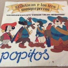 Discos de vinilo: POPITOS, D'ARTACAN Y LOS TRES MOSQUEPERROS. BELTER 1982. . Lote 163323906