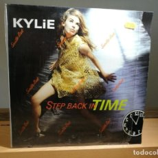 Discos de vinilo: KYLIE STEP BACK IN TIME VINILO 12 MAXI SINGLE . Lote 163328242