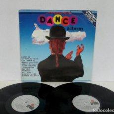Discos de vinil: MAXI DANCE ALBUM - 2 LP 12 SUPER EXITOS EN VERSION MAXI - BONEY M BILLY IDOL AMAZULU GO WEST ARIOLA. Lote 163331126