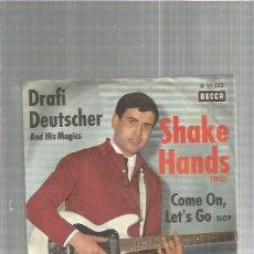 Discos de vinilo: DRAFI SHAKE HANDS. Lote 163334258