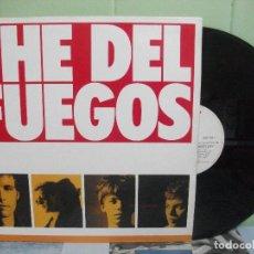Discos de vinilo: THE DEL FUEGOS - THE DEL FUEGOS THE LONGEST DAY LP SPAIN 1987 PDELUXE. Lote 163334962